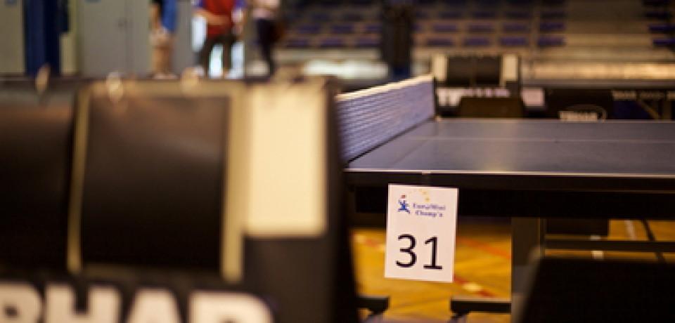 Euro Mini Champ's, Schiltigheim La crème des jeunes pongistes – Dna 28.08.15