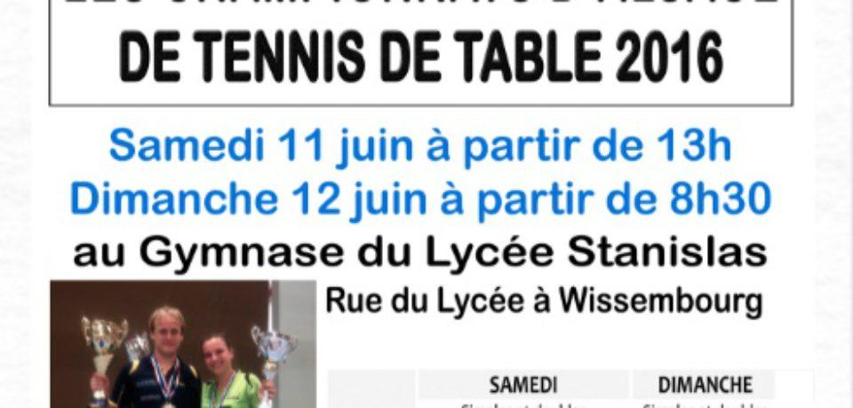 Championnat d'Alsace à Wissembourg