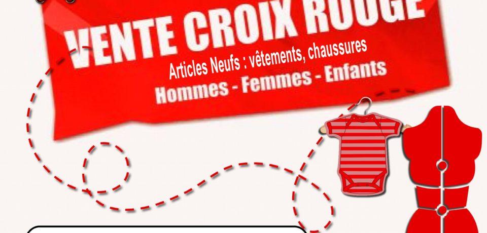 Affiche vente Croix rouge 060517
